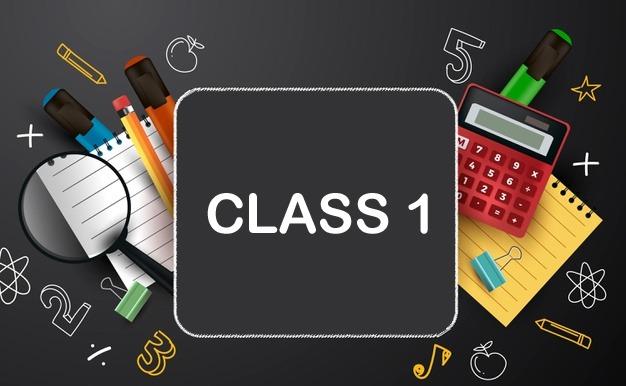 CBSE - Class 01 Course